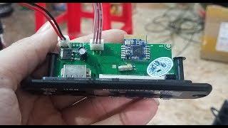 REVIEW Hàng Mới Về Mạch Bluetooth V3 - Mạch TDA2030 2.1 Có Sẵn Nguồn