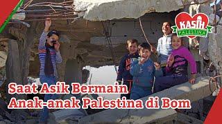 Download Video Saat Asik Bermain Anak-anak Palestina di Bom - Kasih Palestina MP3 3GP MP4