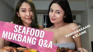 SEA FOOD MUKBANG + Q AND A