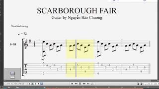 Scar Borought Fair Guitar Tab - Giàn Thiên Lý Đã Xa - Nguyễn Bảo Chương