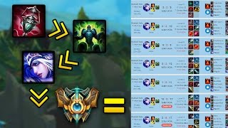 ASHE the NEW MF Support? CHALLENGER 70% Win Rate Support Ashe (League of Legends)