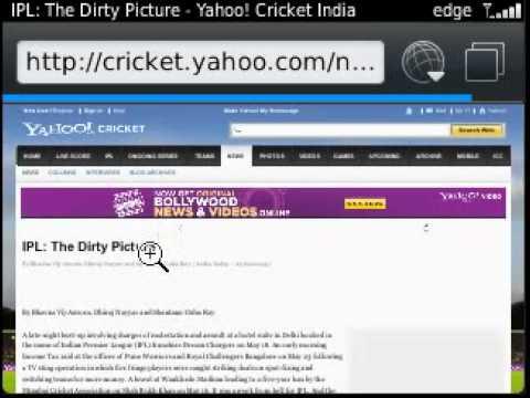 screenshot blackberry 9320 software