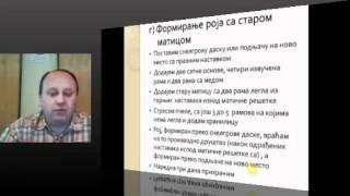 Zoran Sevic - Radovi na pcelinjaku nakon izimljavanja pcelinjih zajednica 12.03.2012
