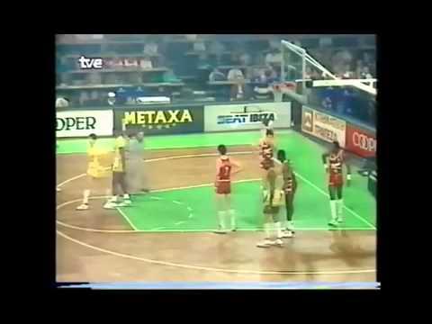 Tracer Milano vs Maccabi Tel Aviv 1988