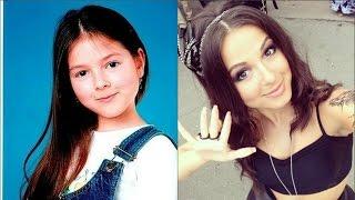 Нюша в детстве,в юности и сейчас