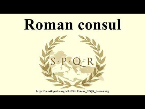 Roman consul