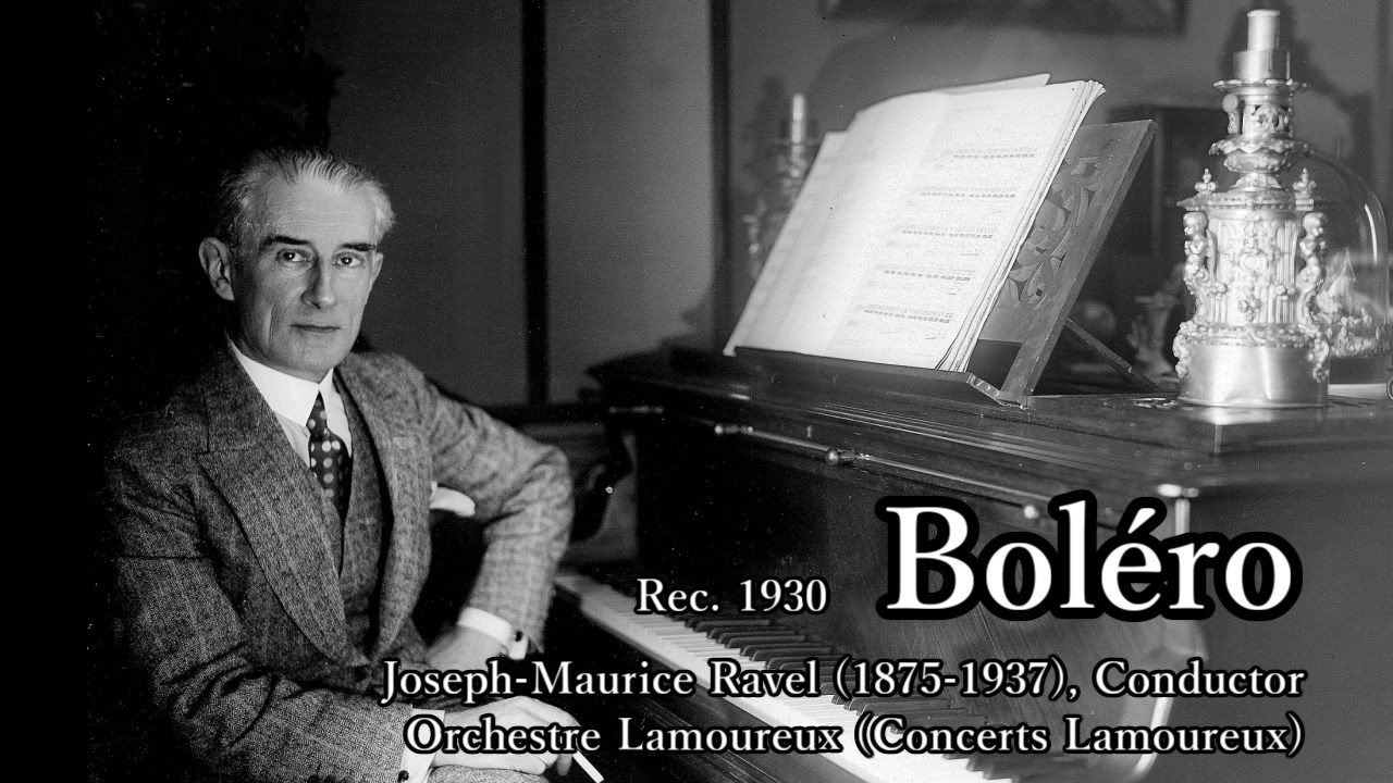 Ravel: Boléro Conducted by Rav...