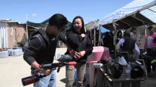"Press Hollywood presents Angeleno Adventures w/ Anthony & Tiffany: Episode 2 ""Paintball USA"""