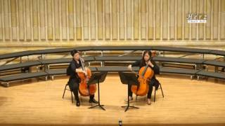 """오직 주만이 - 첼로 두오 헤르츠 Cello duo""""Herz 김현정, 손종희, 진선미"""