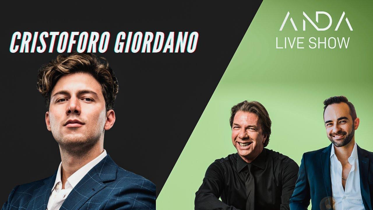 ANDA Live Show con ospite Cristoforo Giordano