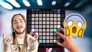 Post Malone - Rockstar Launchpad cover Instrumental