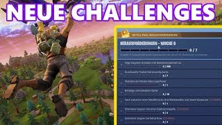 FORTNITE CHALLENGES WOCHE 6 | Alle Battle Pass Challenges einfach erklärt