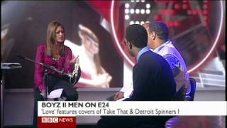 "Boyz 2 Men singing ""End of the Road"" LIVE with BBC"