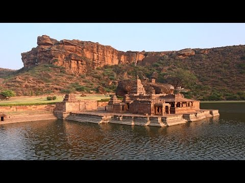 Badami Cave Temples, Karnataka, India in 4K (Ultra HD)