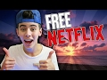 How To get Netflix For FREE!!