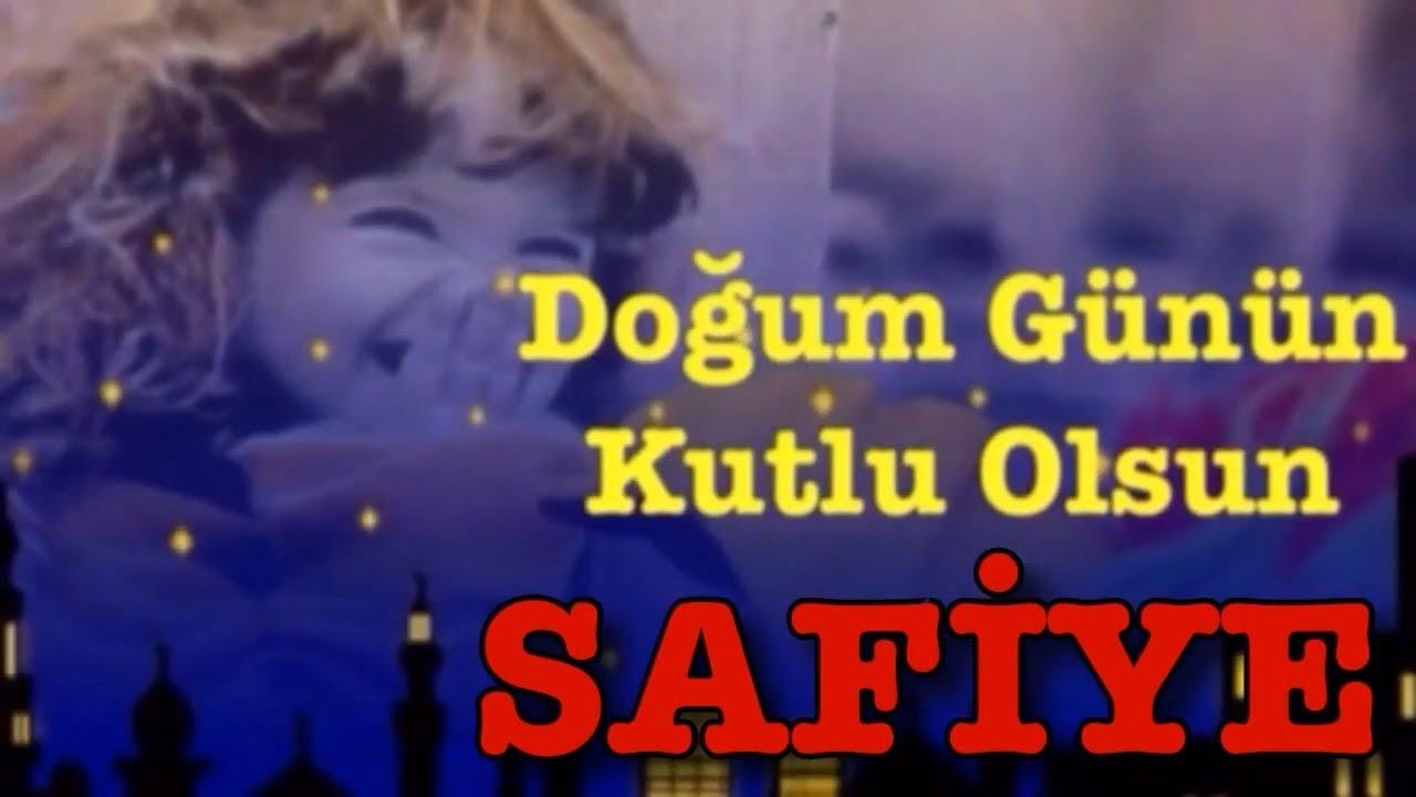 İyi ki Doğdun SAFİYE :)  Komik Doğum günü Mesajı 1. VERSİYON ,DOĞUMGÜNÜ VİDEOSU Made in Turkey :) 🎂