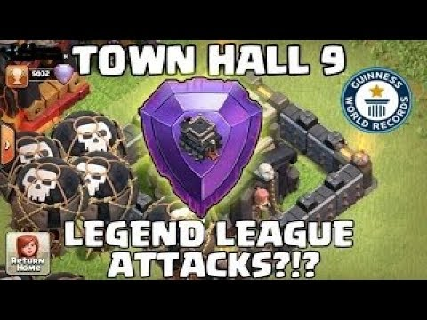 How to push to legend in th9 || Learn the attack strategy to reach legend ||