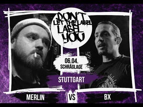 Merlin vs BX // DLTLLY RapBattle (Stuttgart) // 2018