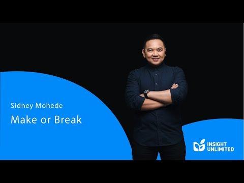 Sidney Mohede - Make Or Break