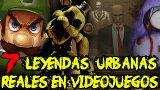 TOP: 7 leyendas urbanas REALES y aterradoras en los videojuegos