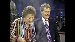 Julia Child Collection on Letterman, 1982-1994