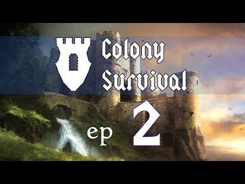 Colony Survival Ep 2 - Already Food Shortages?