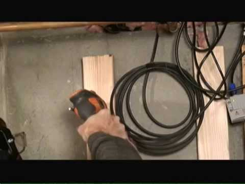 Attaching Furring Strips to Concrete Basement Walls