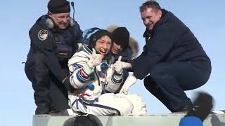 Christina Koch Returns From Longest Ever Female Spaceflight