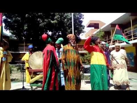 Bobo Shanti at King Selassie I high school Kingston Jamaica