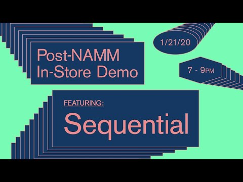 Sequential Pro 3 In-Store Demo + Q&A