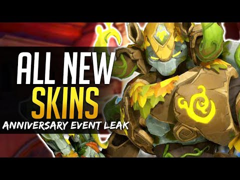 Overwatch ALL NEW SKINS - Legendary & Epic - Anniversary Event Leak