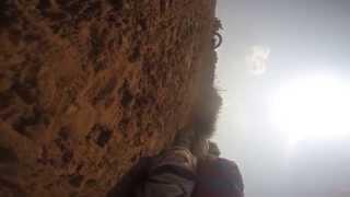 Air MX Nitecross Crash
