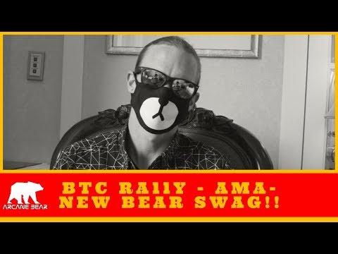 Bitcoin Rally? / Ask Me Anything / NEW (ARCANE BEAR) SWAG!