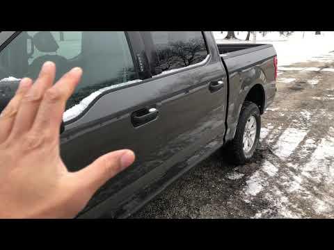 Ford F-150 – How to open the fuel door/gas cap