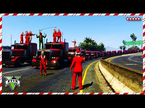 GTA 5 Online PUBLIC LOBBY CREW - GTA V First Person Epic Races & Jumps - 12Days Of Christmas (GTA 5)