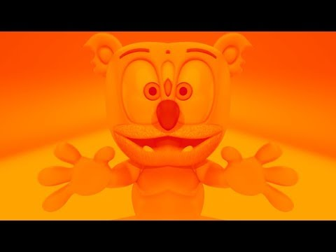 ORANGE & RED & MIRROR Gummibär REQUEST VIDOE Cantonese Chinese HD Gummy Bear Song