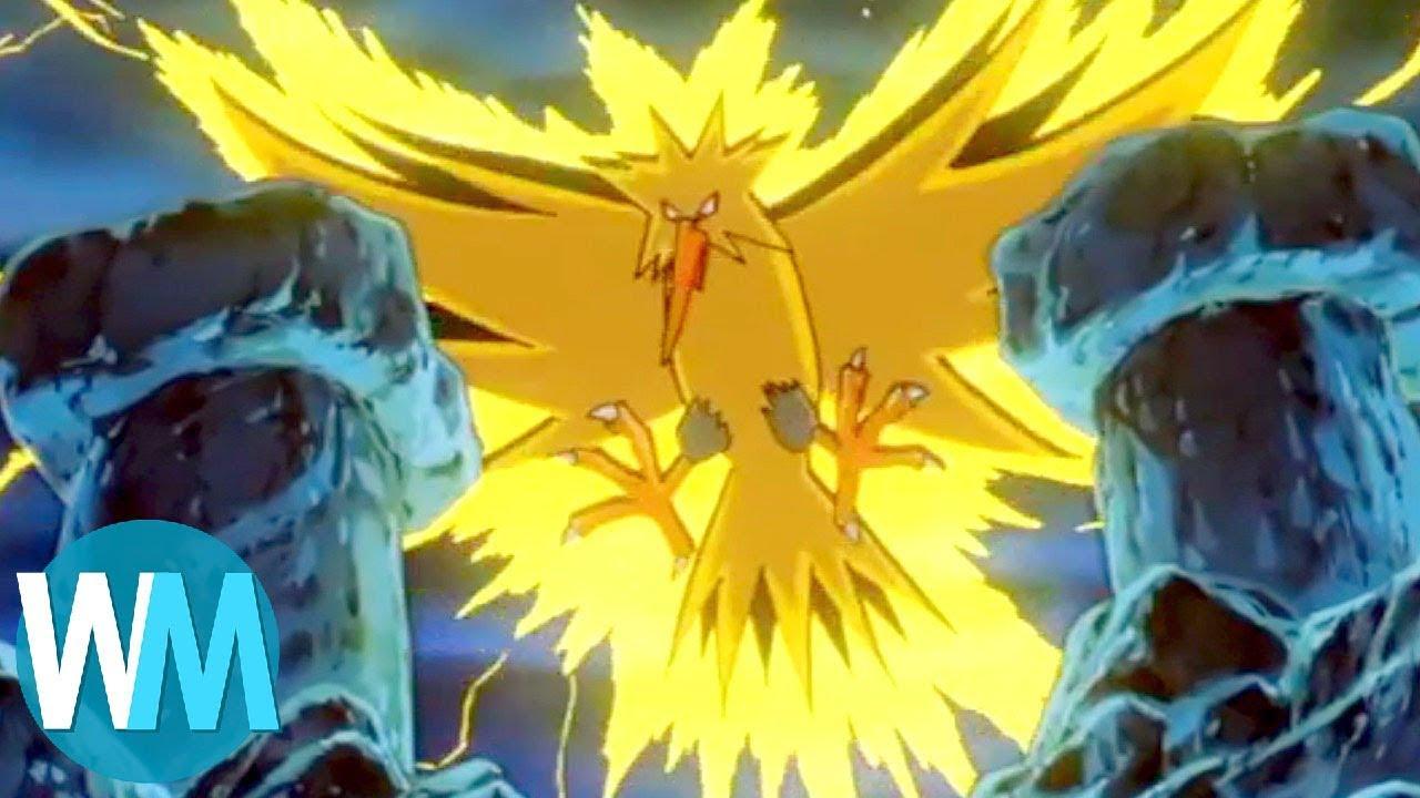 Top 10 Best Electric Pokemon Youtube