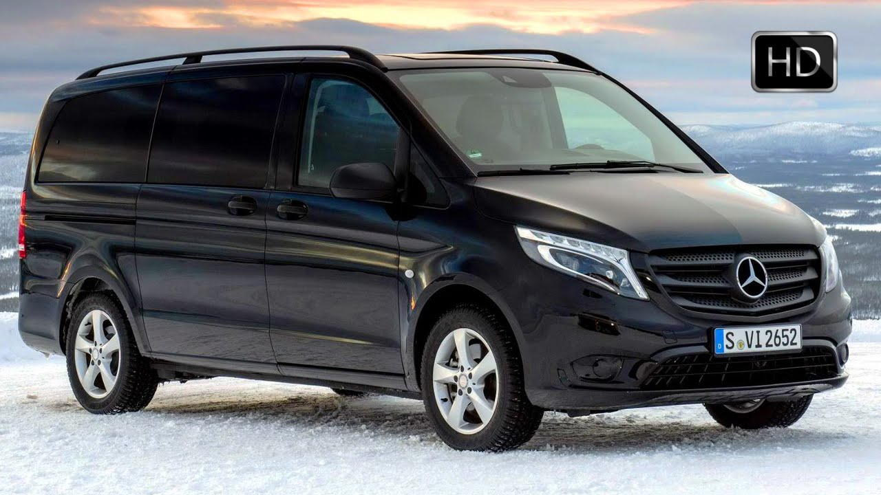 Mercedes Sprinter 4X4 >> 2015 Mercedes Vito 4x4 Tourer PRO 119 BlueTEC Winter Test Drive on Show HD - YouTube