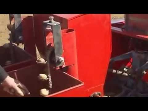 видео: Картофелесажалка 2-х рядная Китайского производства.