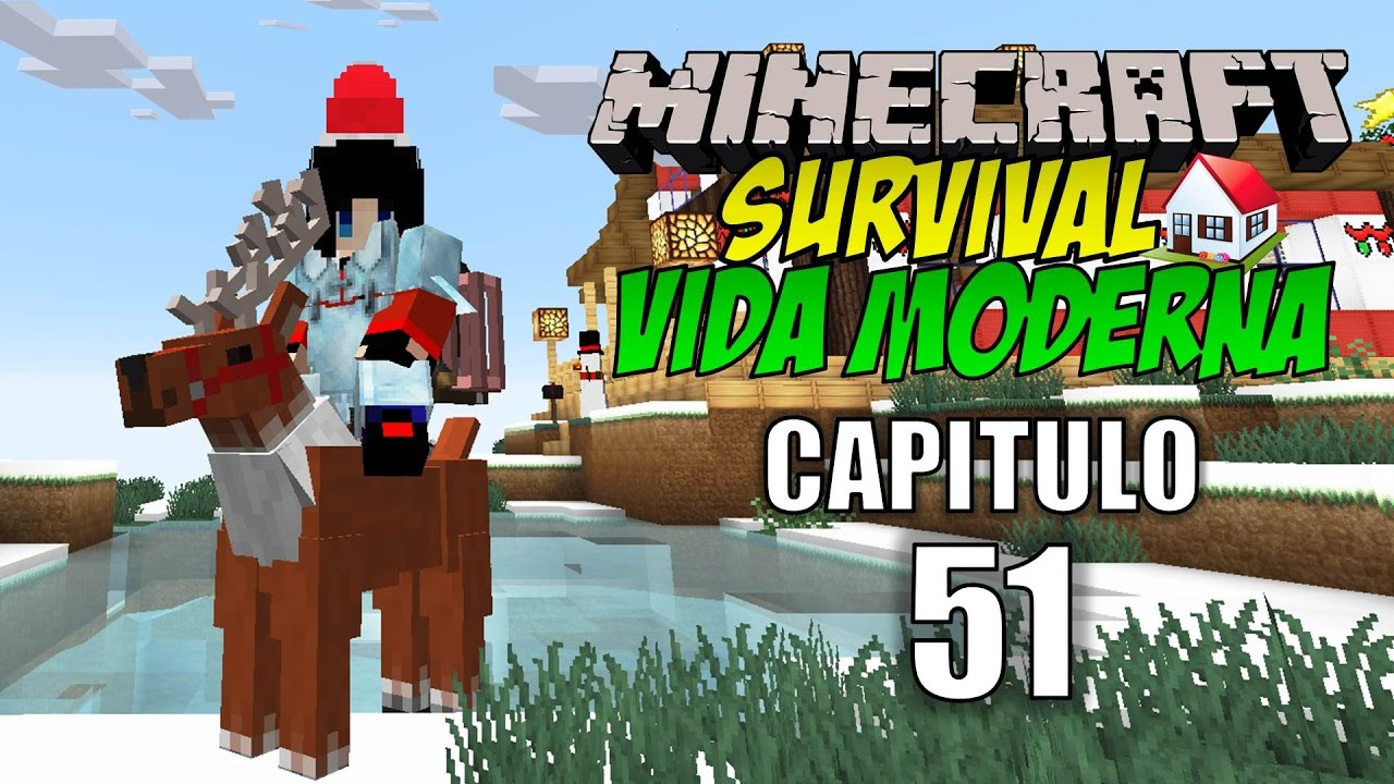 Minecraft survival vida moderna capitulo 51 for Casa moderna rey zerch