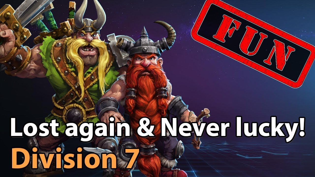 ► Lost again & Never Lucky - Division 7 - Heroes of the Storm Fun