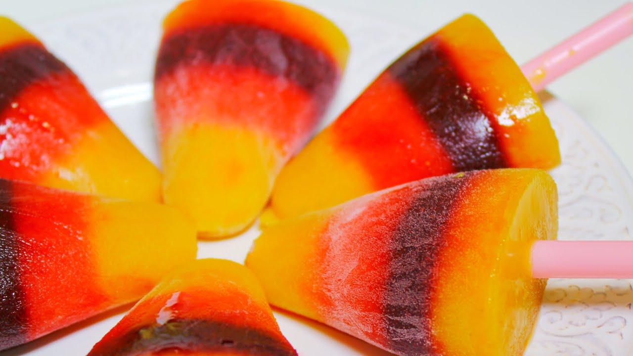 Как сделать апельсиновый фруктовый лед Как изготовить фруктовый лед?