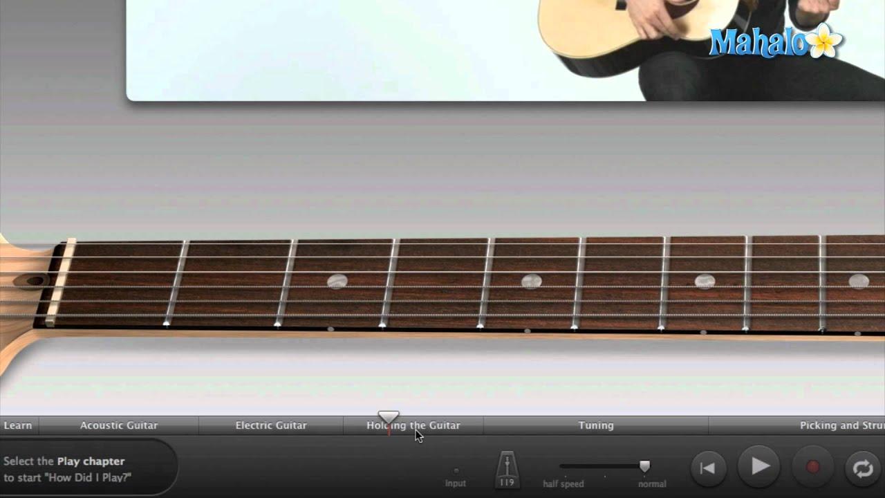 how to use garageband guitar