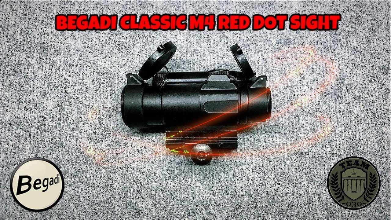 [REVIEW] BEGADI CLASSIC M4 RED DOT SIGHT