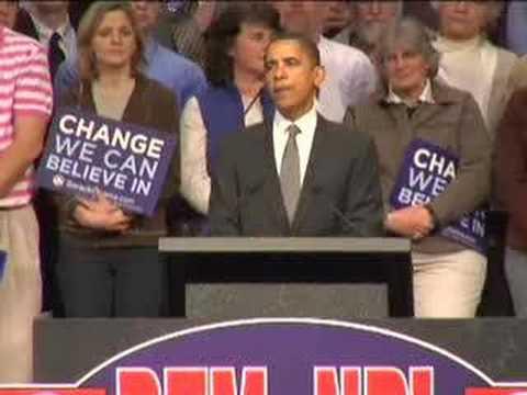 Barack Obama in Grand Forks, ND