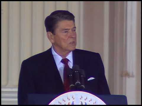 President Reagan's Address to the Organization of American States on October 7, 1987