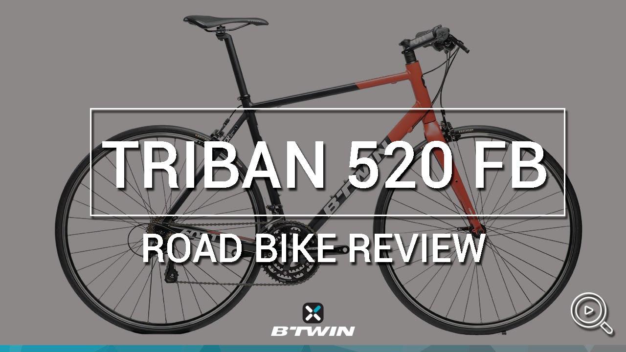 Vélo route Triban 520 (cintre droit) B'TWIN // Road bikeTriban 520 (flat  bar) B'TWIN