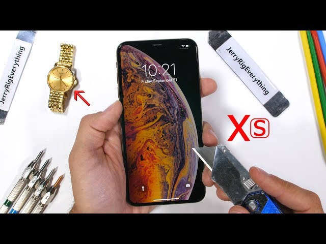 iPhone Xs MAX Durability Test - How weak is the big iPhone?