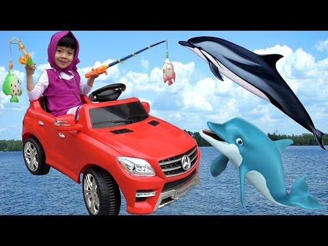 Let's Go Fishing With Masha – Cô Bé Siêu Quậy AnAn Đi Câu Cá ❤ AnAn ToysReview TV ❤