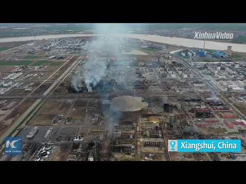 Death toll from east China's chemical plant blast rises to 62